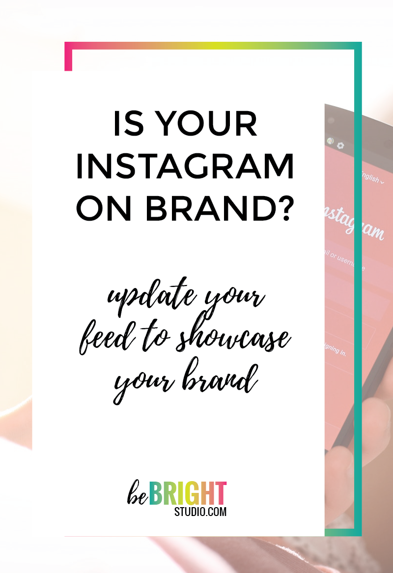 How to make sure your instagram in on brand
