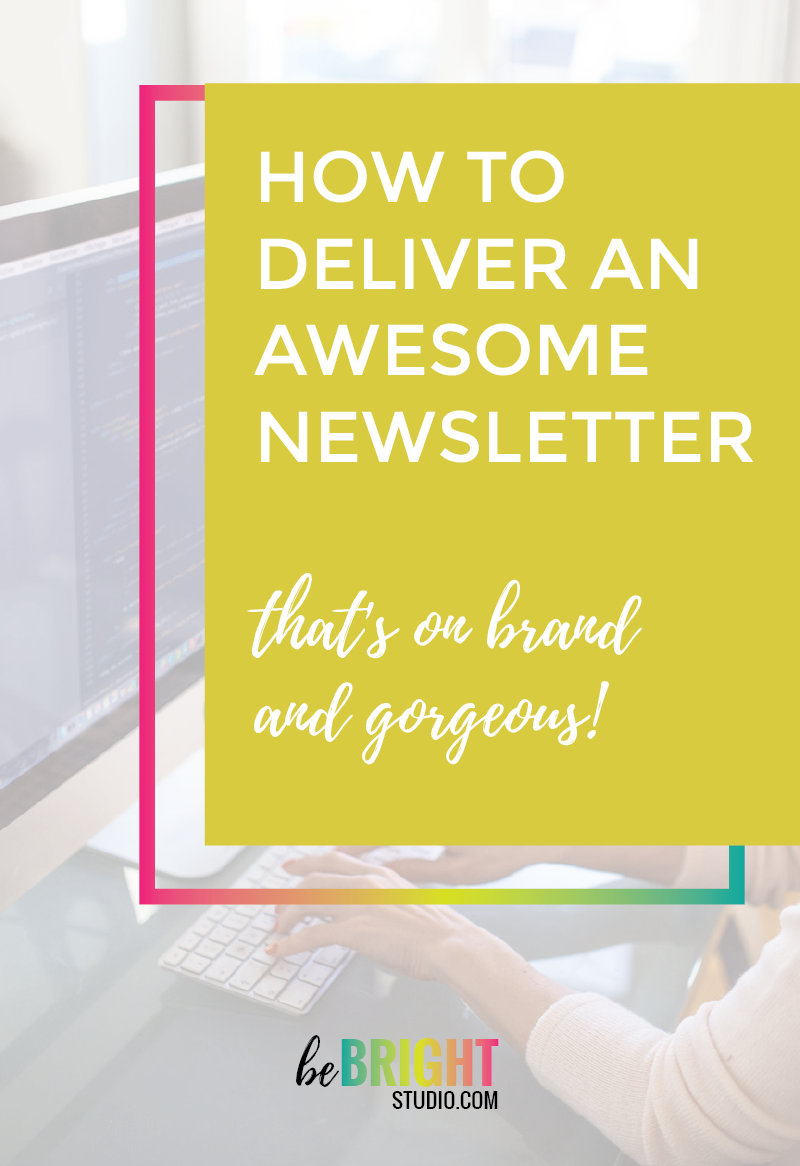 How to deliver an awesome newsletter