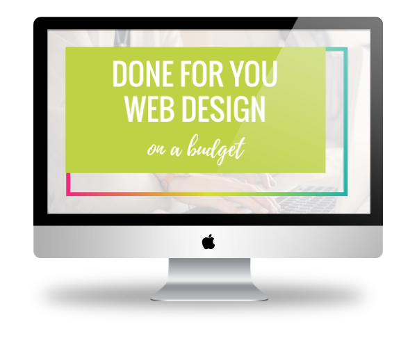 Done for Your Web Design on a budget