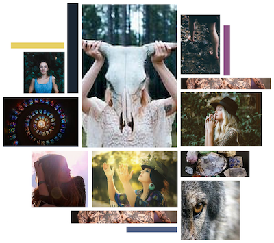 Mystical Insight Moodboard