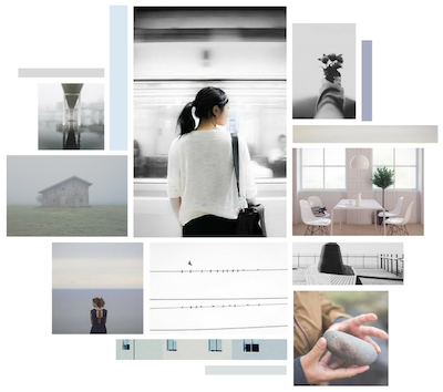 Peaceful Calm Moodboard