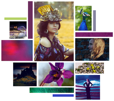 Royal Influence Moodboard