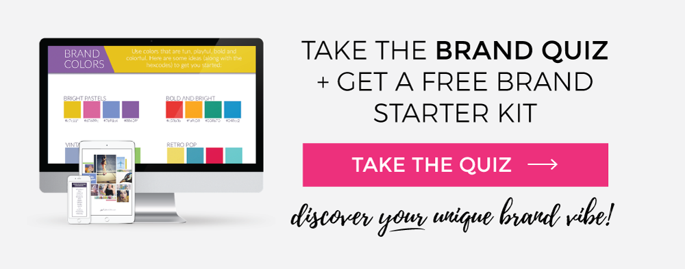 Take the free brand quiz at Be Bright Studio